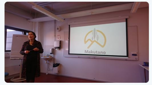 Irmeli Mustalahti launching the new Makutano