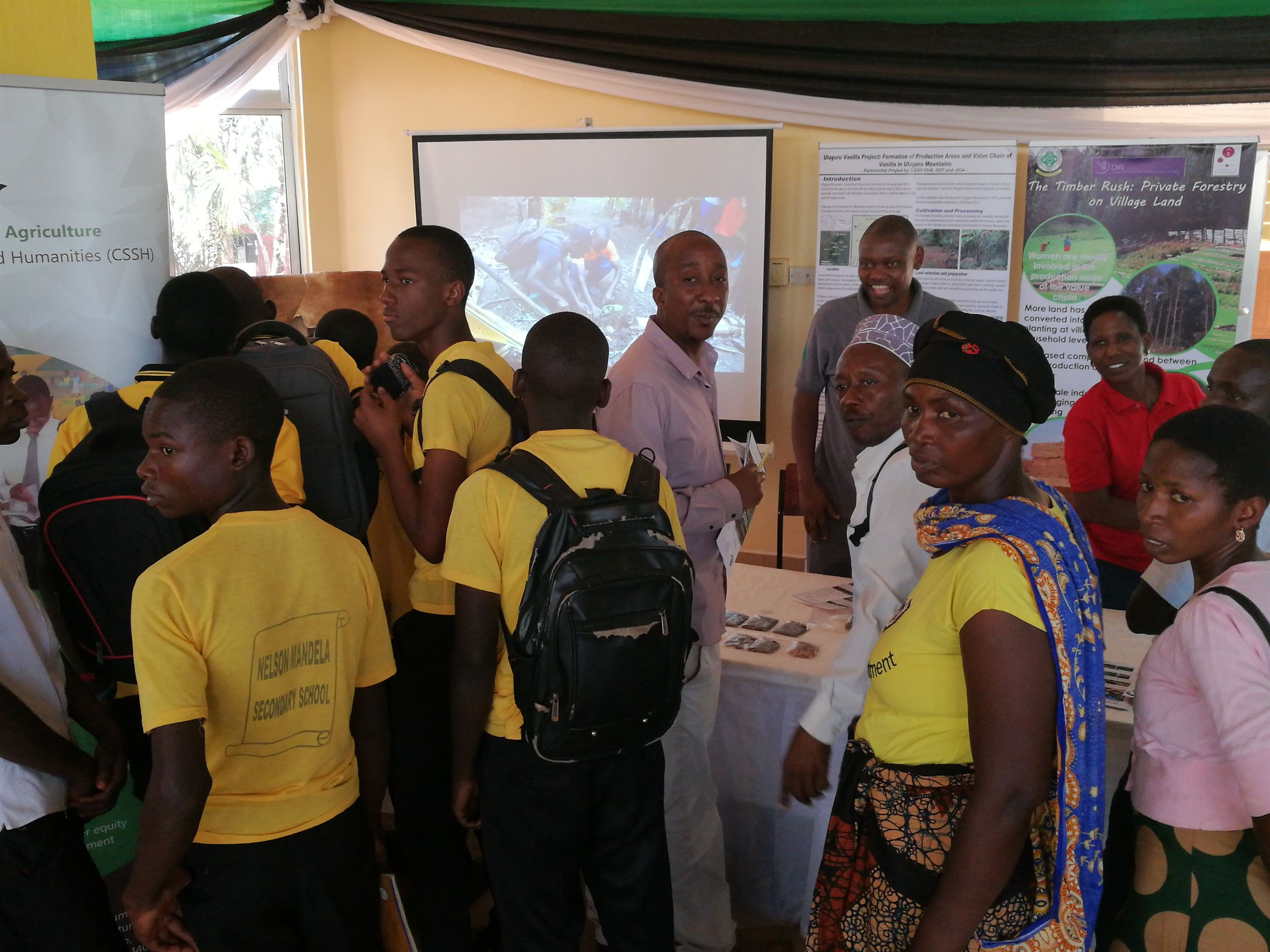 Timber Rush Project participation during Nane Nane Agricultural Shows in Morogoro in August 2018
